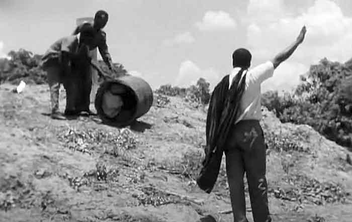 Entrenamiento de los afronautas con barriles - El café de la historia