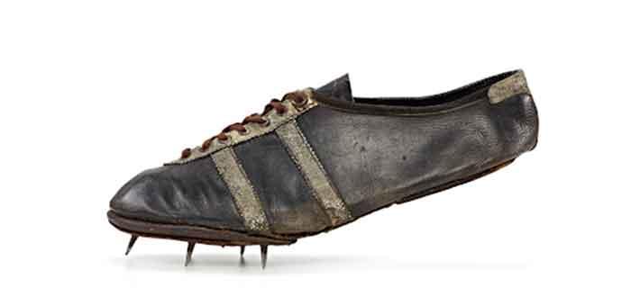 Las zapatillas con clavos de Jesse Owens - el café de la historia adidas versus puma