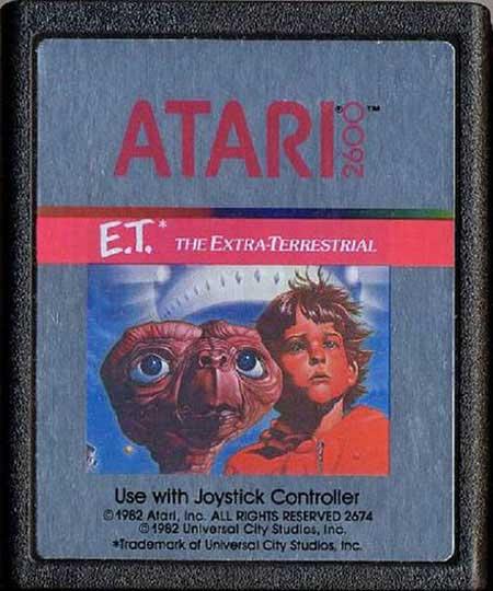 Videojuego Et de Atari - el café de la historia
