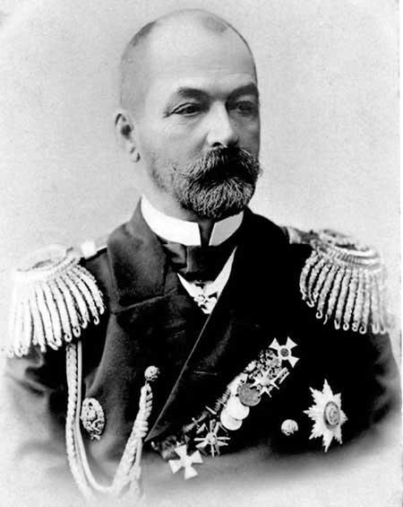 La caótica travesía de la flota rusa del Báltico - El café de la Historia El Almirante Rozhéstvenski