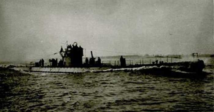 El U 518, la cloaca de la que emergió Werner