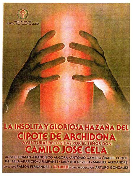 Cartel de la película La insólita y gloriosa hazaña del cipote de Archidona