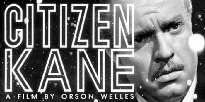 Cartel de Ciudadano Kane - El café de la Historia