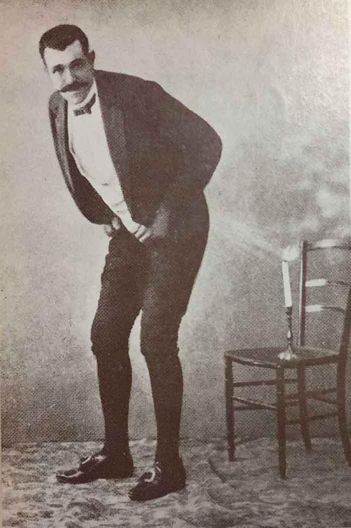Joseph Pujol, el pedómano