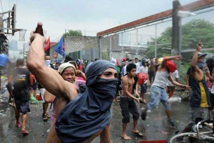 Filipinas, protestas de 1992 contra Pepsi - el café de la historia Pepsi 349