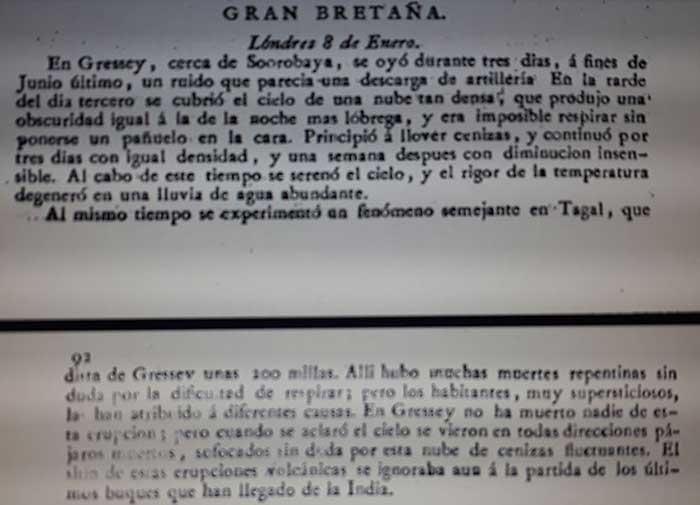 Gaceta de Madrid, 27 de enero de 1816