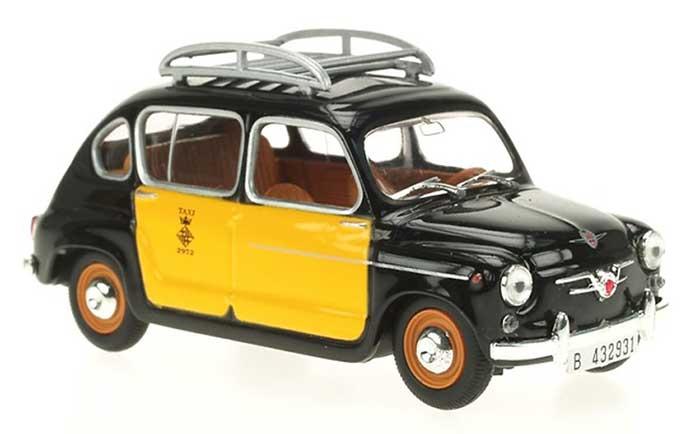 Taxi vintage de Barcelona