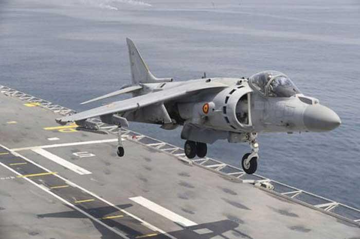 Caza Harrier - el café de la historia