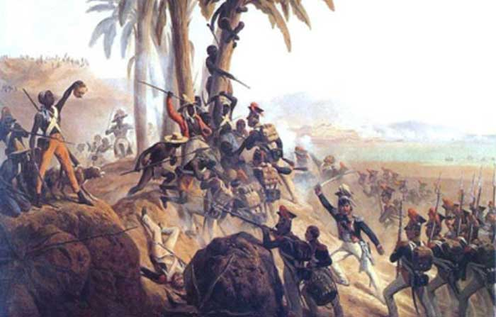 Batalla independencia Haiti