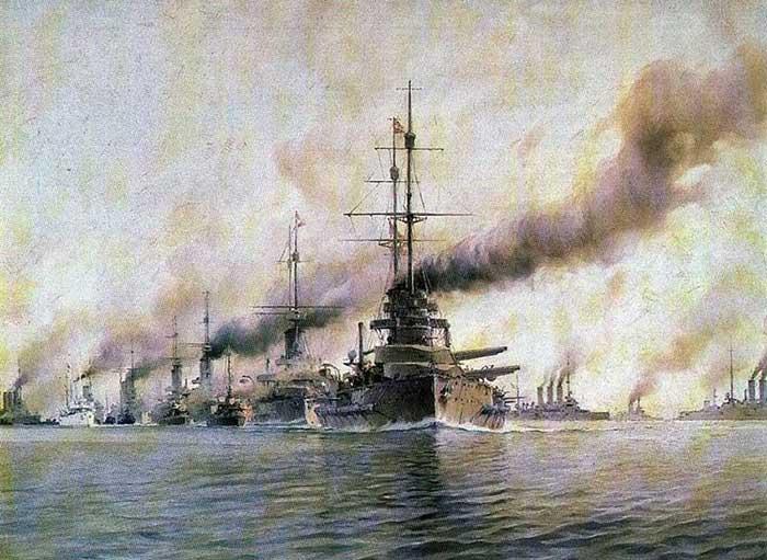 Batalla del Banco Dogger, 1915