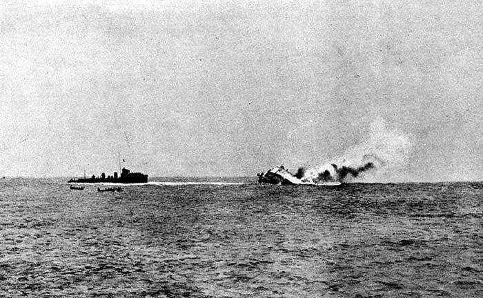 Batalla de la Bahía de Heligoland, 1914