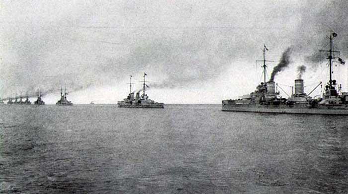 Batalla de Jutlandia, 1916