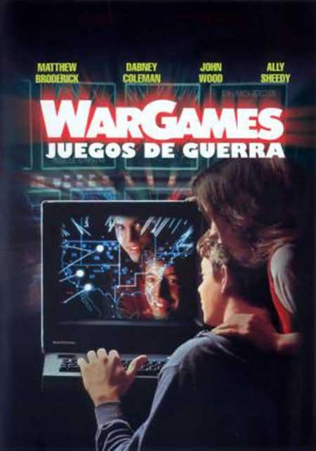 Cartel de Juegos de Guerra