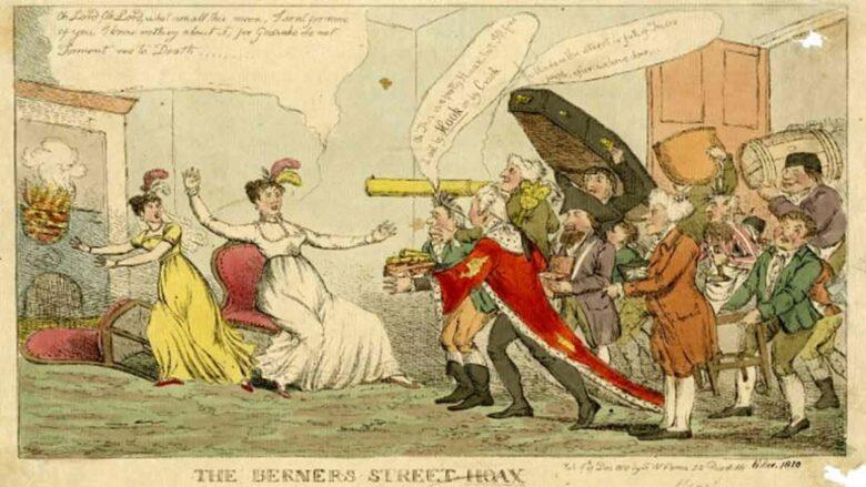 El café de la historia - La broma de Berners Street