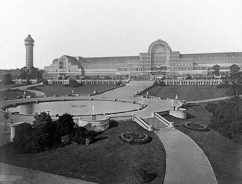 El Palacio de cristal de Londres - el café de la historia