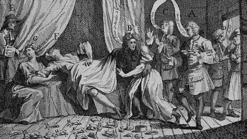 Mary Toft - El milagro de Guilford