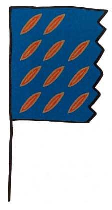 Bandera de Redonda - Javier Mariscal