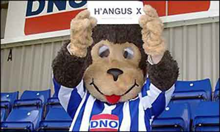 Hangus the monkey - el café de la historia