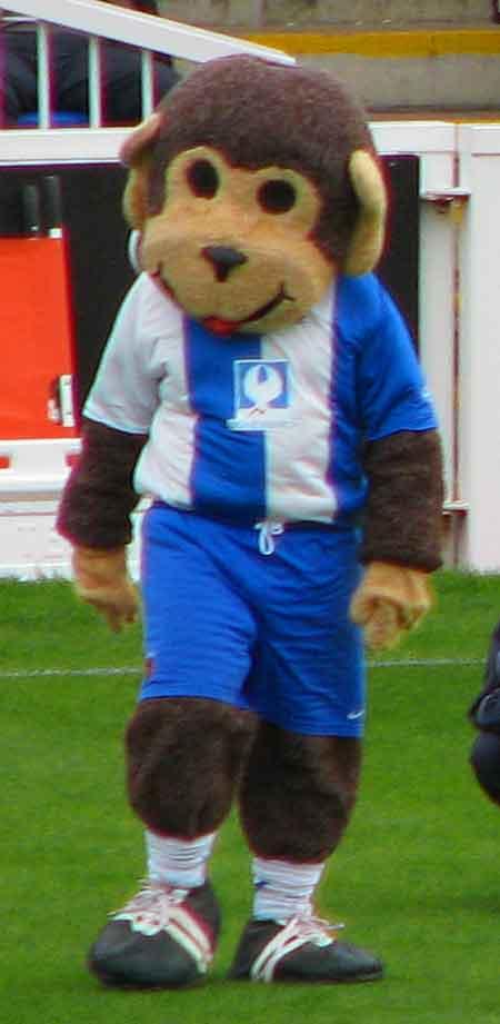 H'angus the Monkey, la mascota del Hartlepool