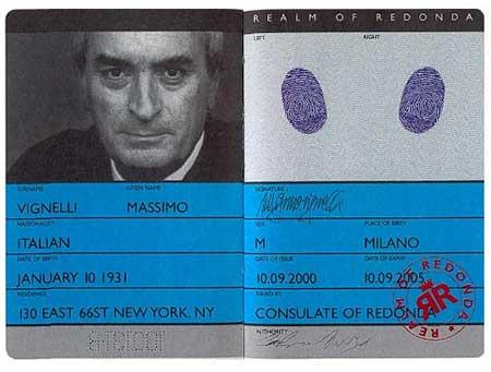 Pasaporte de Redonda