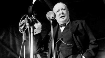 El café de la historia - el culto a la voz de Churchill